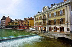 Town of Annecy Royalty Free Stock Images