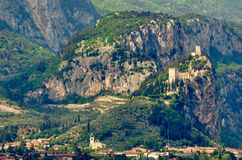 Town of Arco (Trentino, Italy) Stock Photo