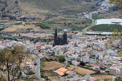 Town Arucas, Grand Canary Stock Image