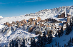 Town of Avoriaz Stock Photos