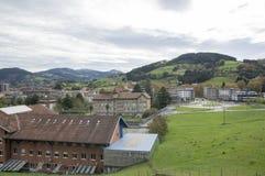 The town of Azpeitia Stock Image