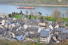 Town of Bacharach, Rhine Valley, Germany Royalty Free Stock Photo