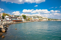 The town of Balchik in Bulgaria. Royalty Free Stock Photo