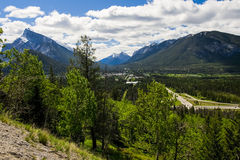 Town of Banff Stock Photos