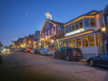 Town of Bar Harbor, Maine Royalty Free Stock Photography