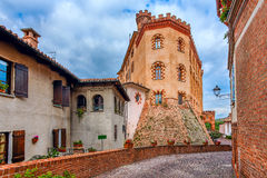 Town of Barolo, Italy. Royalty Free Stock Image
