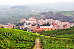 Town of Barolo in Langhe Royalty Free Stock Photo