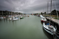 Town Basin Marina, Whangarei Royalty Free Stock Photos
