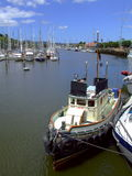 Town Basin, Whangarei, N.Z. A view of the Town Basin boat marina at Whangarei in the North Island of New Zealand Stock Photo