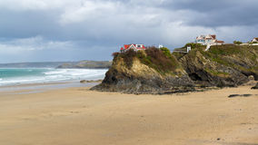 Town Beach Newquay Stock Images
