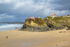 Town Beach Newquay Royalty Free Stock Photo