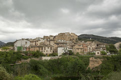 The town of Beceite. In Teruel, Aragon, Spain Stock Photo
