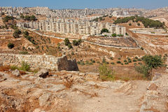 Town of Beit Sahour - Israel Stock Image