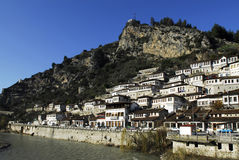 Town of berat Royalty Free Stock Photos