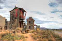 The town of Bodie, America, California stock images
