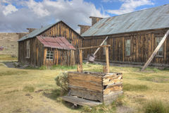 The town of Bodie, America, California Royalty Free Stock Photography