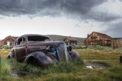 The town of Bodie, America, California Stock Photos