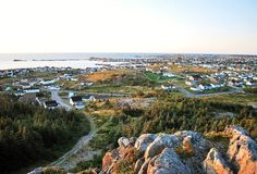The Town Of Bonavista Newfoundland Stock Photos