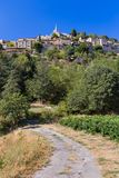 Town Bonnieux - Provence France. Travel and architecture background Stock Image