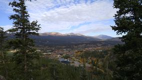 Town of Breckenridge Colorado. Autumn Fall Town View Stock Photos