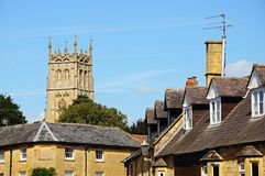Town buildings, Chipping Campden. Stock Photo