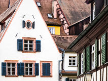 Town buildings royalty free stock images