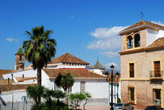 Town buildings, Velez Malaga. royalty free stock photo