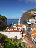 Beautiful Madeira Island, Camara de Lobos. The town of Camara de Lobos on the beautiful island of Madeira. Portugal Stock Images