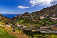 Town Camara de Lobos - Madeira Portugal Royalty Free Stock Image