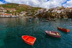 Town Camara de Lobos - Madeira Portugal Royalty Free Stock Images
