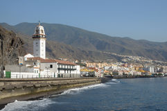 Town Candelaria. Tenerife, Spain Royalty Free Stock Images