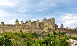 Town of Carcassone Stock Photos