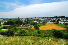 Town of Carnac in Brittany Stock Photography