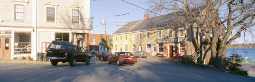 Town of Castine Stock Images