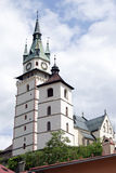 The town castle of Kremnica Stock Photos
