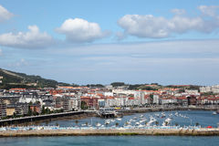 Town Castro Urdiales in Cantabria, Spain Stock Photography