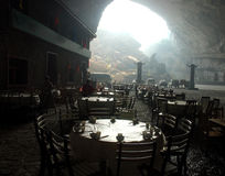 Town in cave Stock Images
