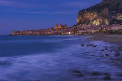 TOWN OF CEFALU, SICILY royalty free stock images