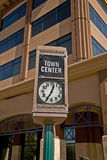 Town Center--Mesa Arizona Royalty Free Stock Images