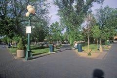 Town Center in Santa Fe, NM Stock Image