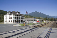Town Center of Skykomish Royalty Free Stock Image
