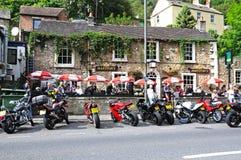 Town centre pub, Matlock Bath. Royalty Free Stock Photos