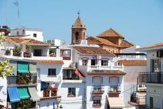 Town centre, Torrox, Andalusia, Spain. Stock Images