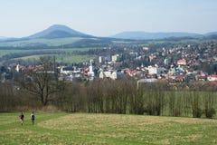 Ceska Kamenice, Czech republic Stock Photo