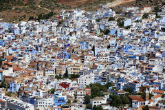 Town Chefchaouen in Morocco Stock Image