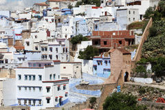 Town Chefchaouen in Morocco Stock Photography