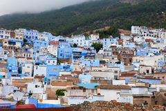 Town Chefchaouen in Morocco Royalty Free Stock Images