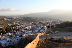 Town Chefchaouen in Morocco Royalty Free Stock Photo