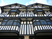 Town of Chester Tudor Facade Royalty Free Stock Images