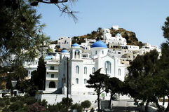 Town of Chora, Ios island, Greece Stock Photo